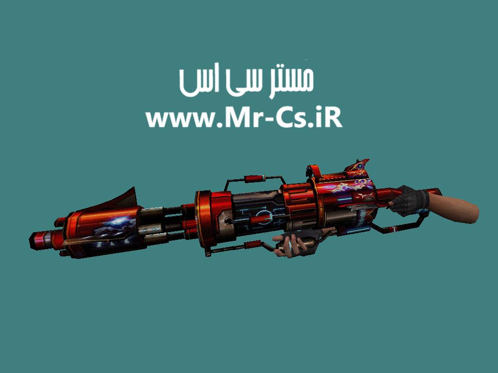 دانلود اسکین فانتزی M249 Power