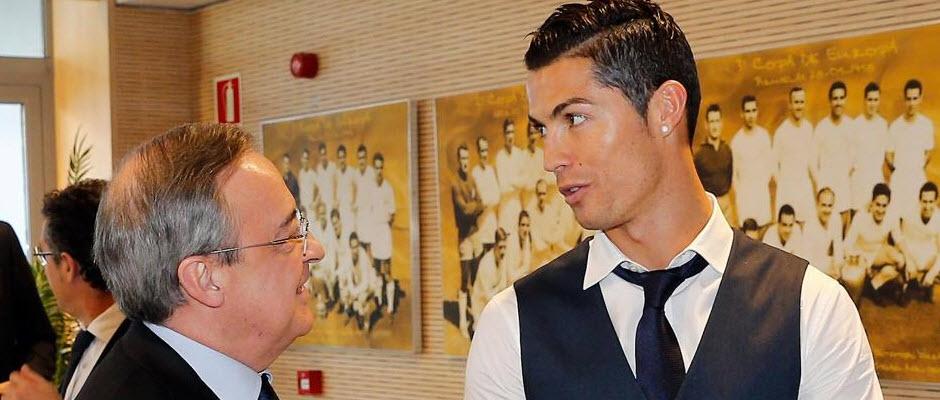 رونالدو به رئال مادرید اعلام کرده که قصد جدایی از این تیم را ندارد