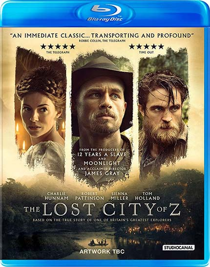 دانلود فیلم The Lost City of Z 2016 دوبله فارسی