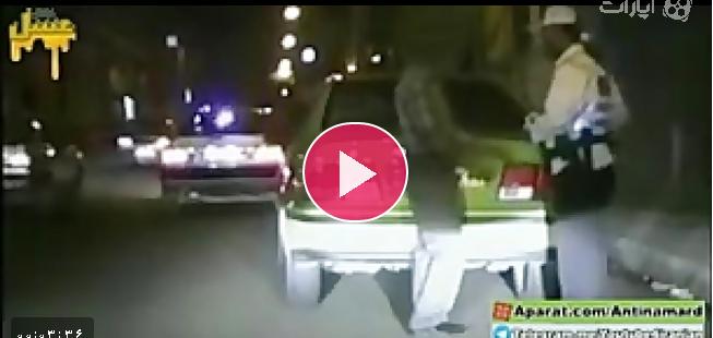 تعقیب و گریز خفن و عجیب پلیس نامحسوس با راننده دیوانه