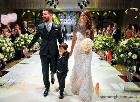 عروسی لیونل مسی