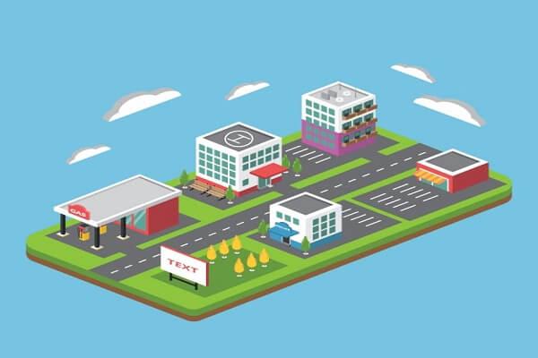 سایت تجاری و طراحی آن برای یک مرکز تجاری در راستای جذب کاربران اینترنت