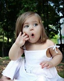 دختربچه زیبا نهمین سوپر مدل دنیا !+عکس