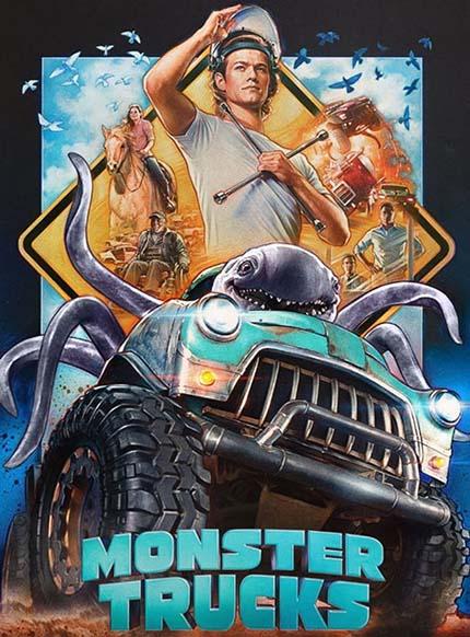 دانلود انیمیشن ماشین های هیولا Monster Trucks 2016 دوبله فارسی