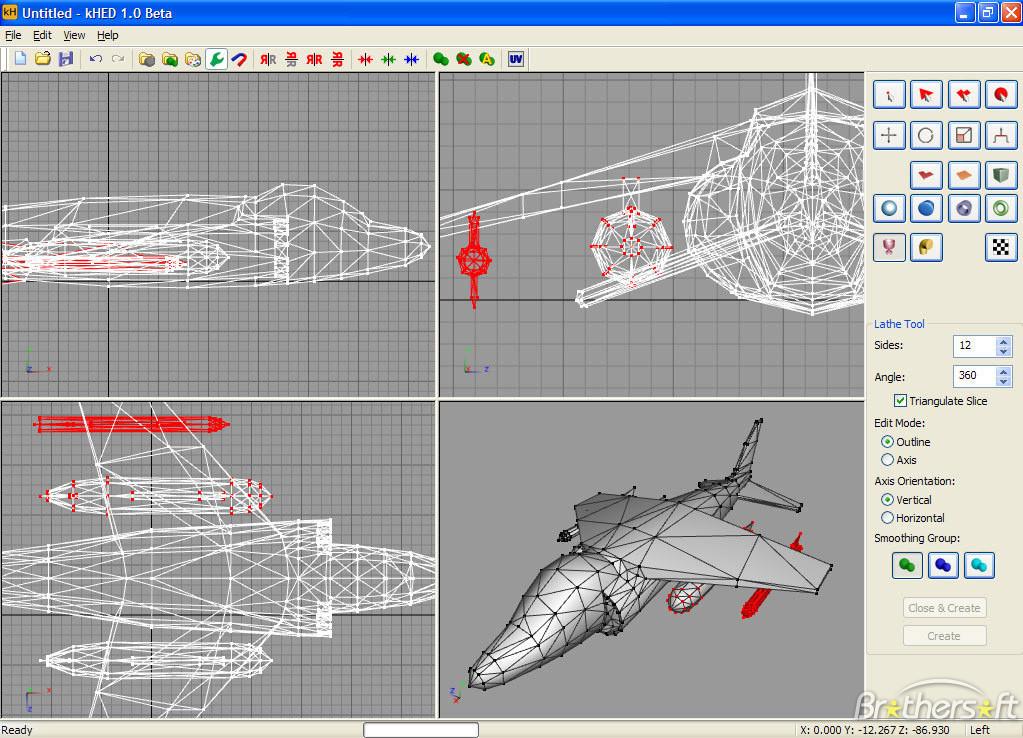 دانلود نرم افزار kHED 3D Modeling Editor برای کانتر 1.6