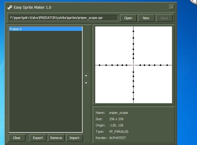 دانلود نرم افزار Easy Sprite Maker برای کانتر استریک 1.6