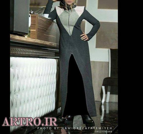 مدل مانتو بلند دخترانه اسپرت,