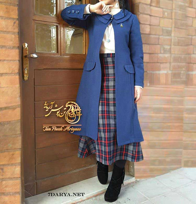 مدل پالتوی دخترانه شیک 2017