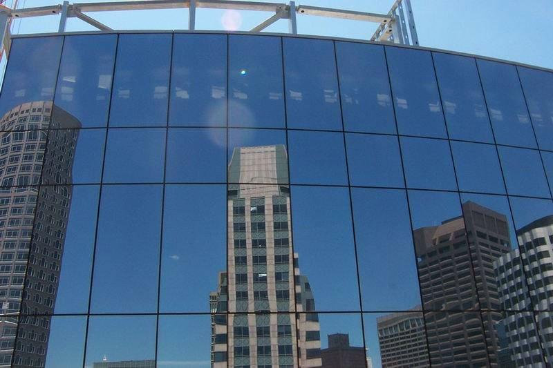 نمای فریم لس (نمای شیشه ای)