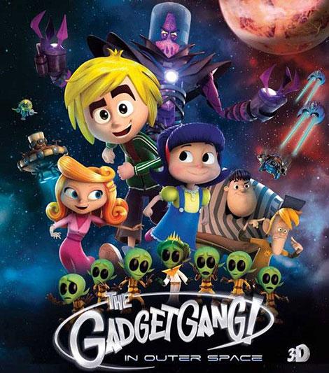 دانلود انیمیشن GadgetGang in Outer Space 2017