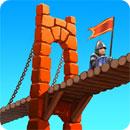 دانلود Bridge Constructor Medieval 1.5 – بازی پل سازی اندروید + مود