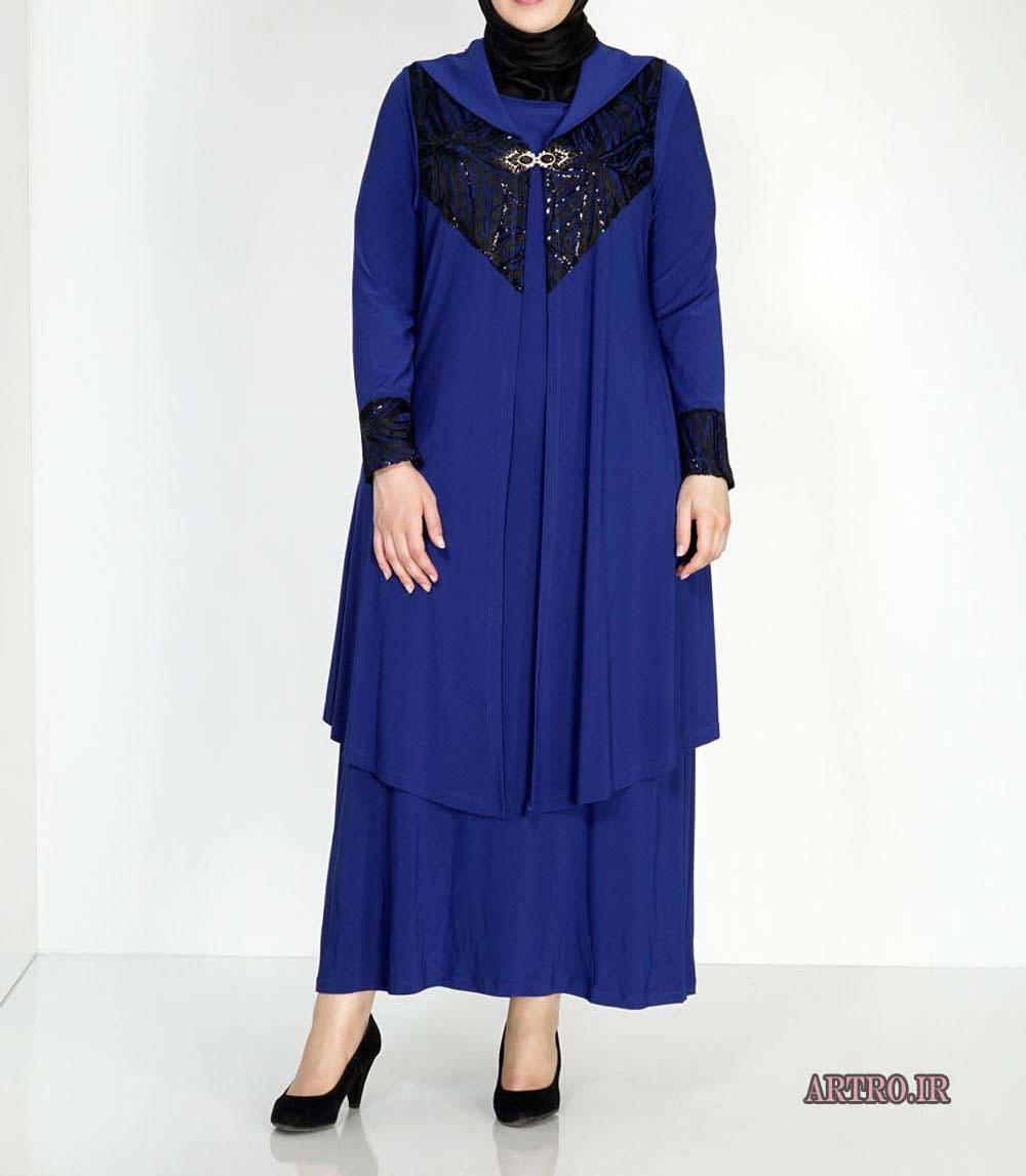 مدل مانتوی زنانه سایز بزرگ 2017