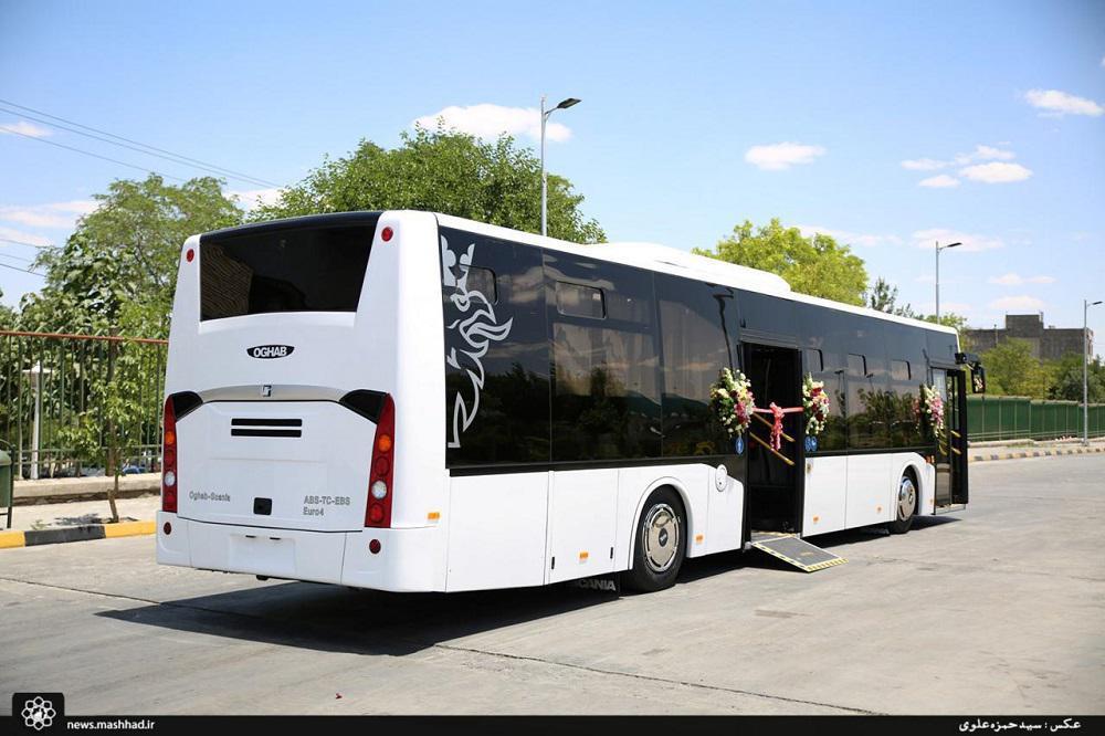 ورود 233 دستگاه اتوبوس یورو 4 کف کوتاه به ناوگان مشهد تا پایان سال جاری+تصاویر