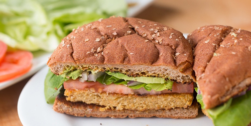 تحقق آرزوی همبرگر خوردن، برای گیاهخواران!