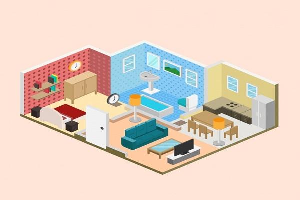 طراحی دکوراسیون داخلی و نمایش نمونه کار ها از طریق طراحی سایت