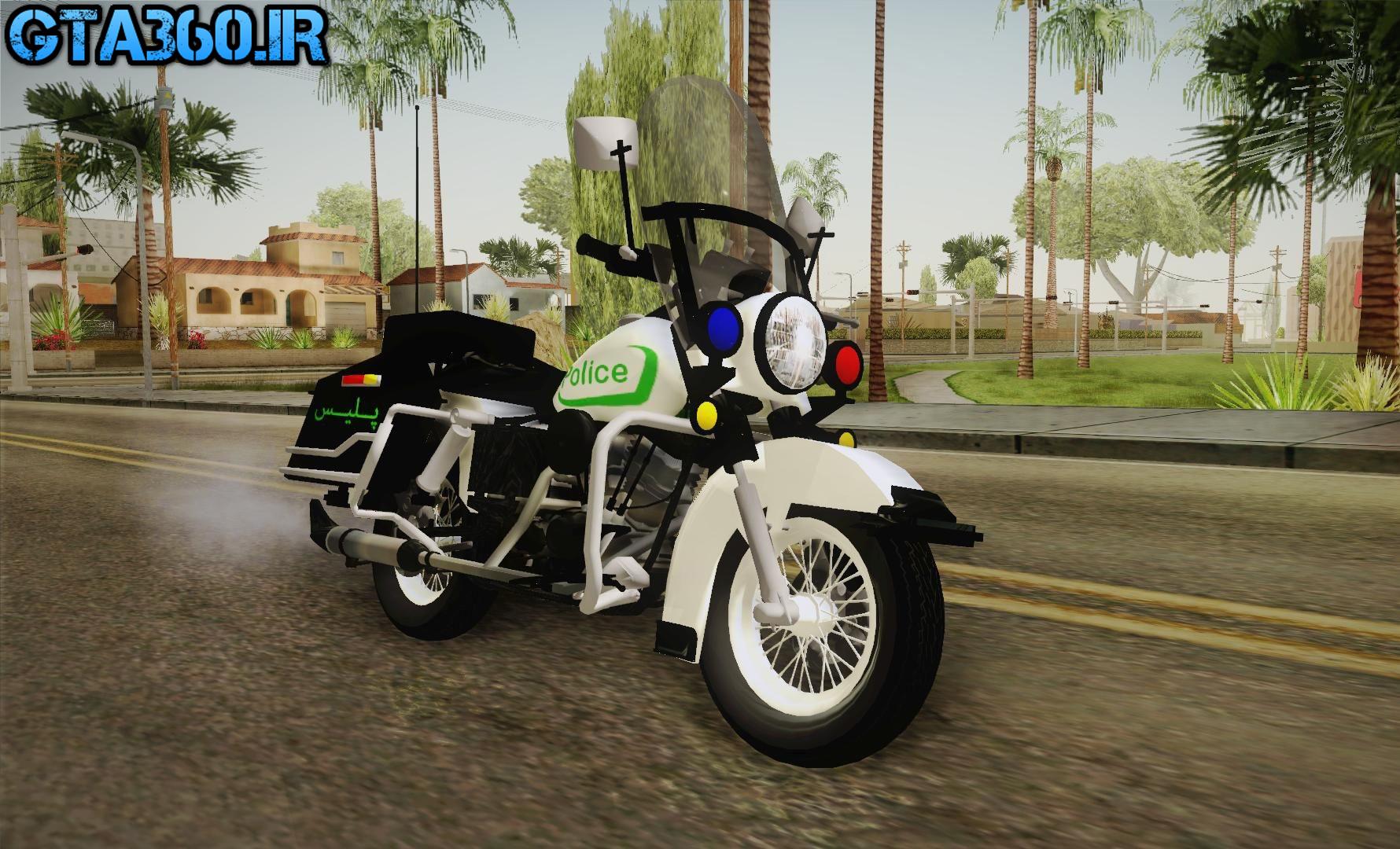 موتور پلیس ایرانی v1 برای gta sa