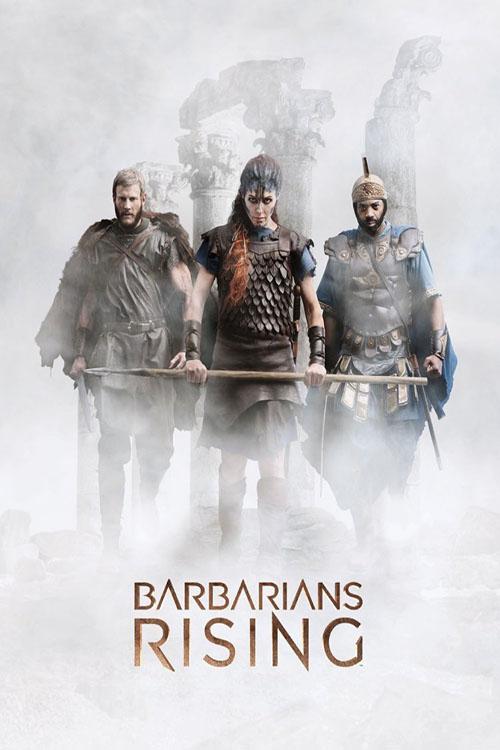 دانلود دوبله فارسی سریال قیام بربرها Barbarians Rising