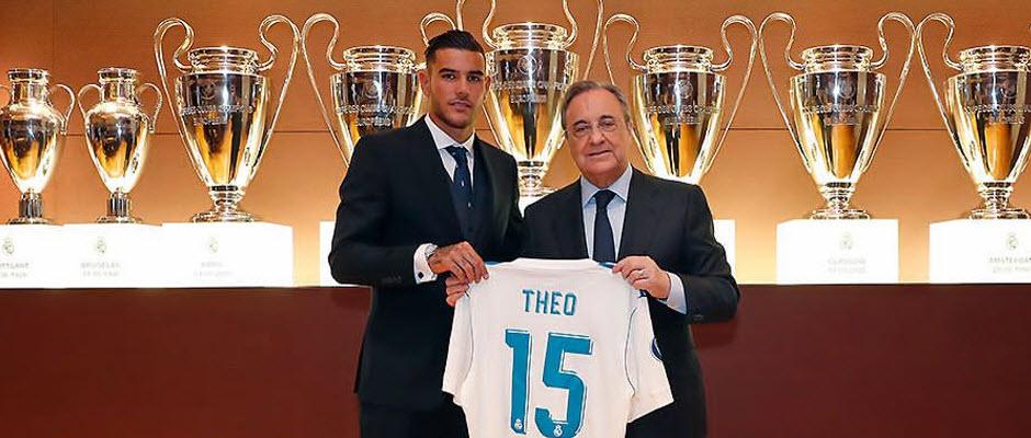 تئو هرناندز، شماره 15 جدید رئال مادرید