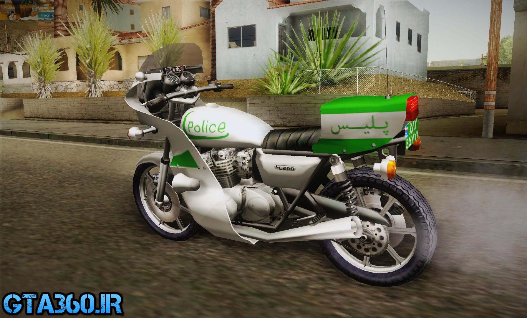 موتور پلیس ایرانی v2 برای gta sa