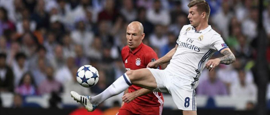 خامس رودریگز هفتمین جابجایی بین رئال مادرید و بایرن مونیخ است