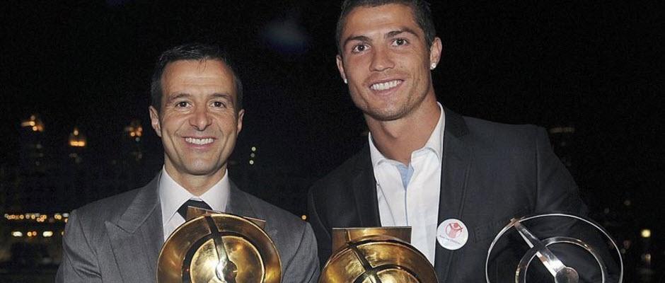 کریستیانو رونالدو تنها موکل ژرژ مندس در رئال مادرید
