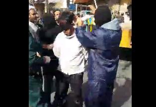 فیلم اعدام قاتل آتنا اصلانی دختر بچه 7 ساله اردبیلی