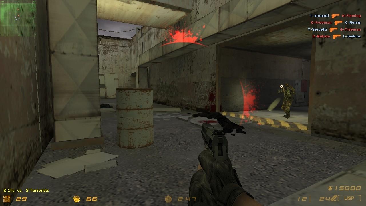 دانلود اسپرایت تغییر ظاهر Damage | CS HellStrike سی اس 1.6