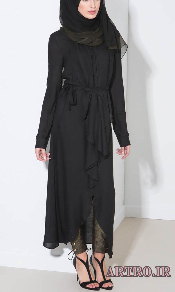 مدل مانتو بلند شیک زنانه 2017