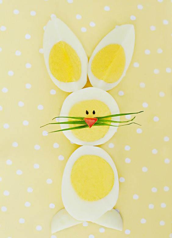 سفره آرایی با تخم مرغ