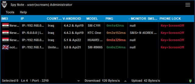 SpyNote v4 (Android RAT)