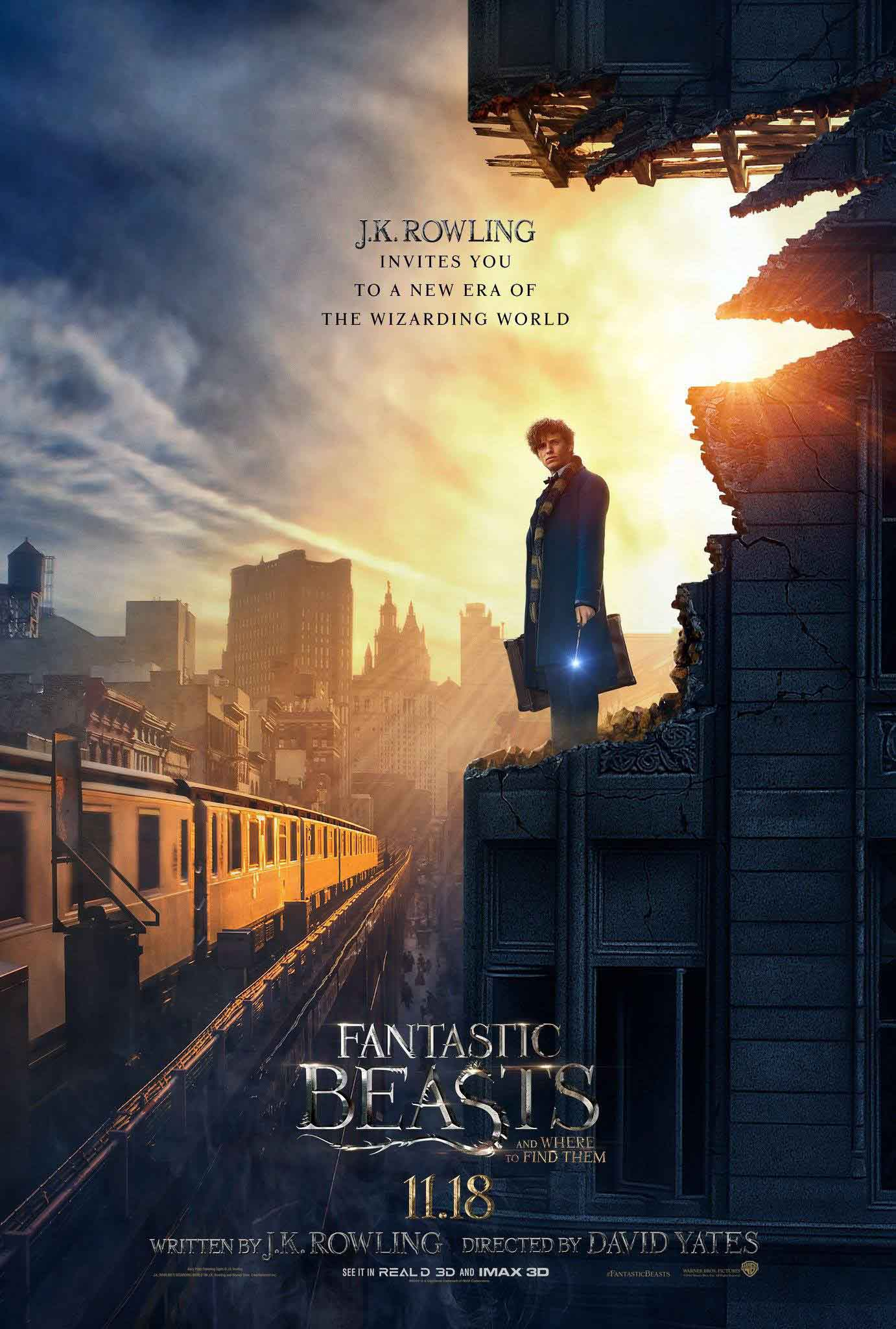 دانلود فیلم هری پاتر 2016 | Fantastic Beasts and Where to Find Them