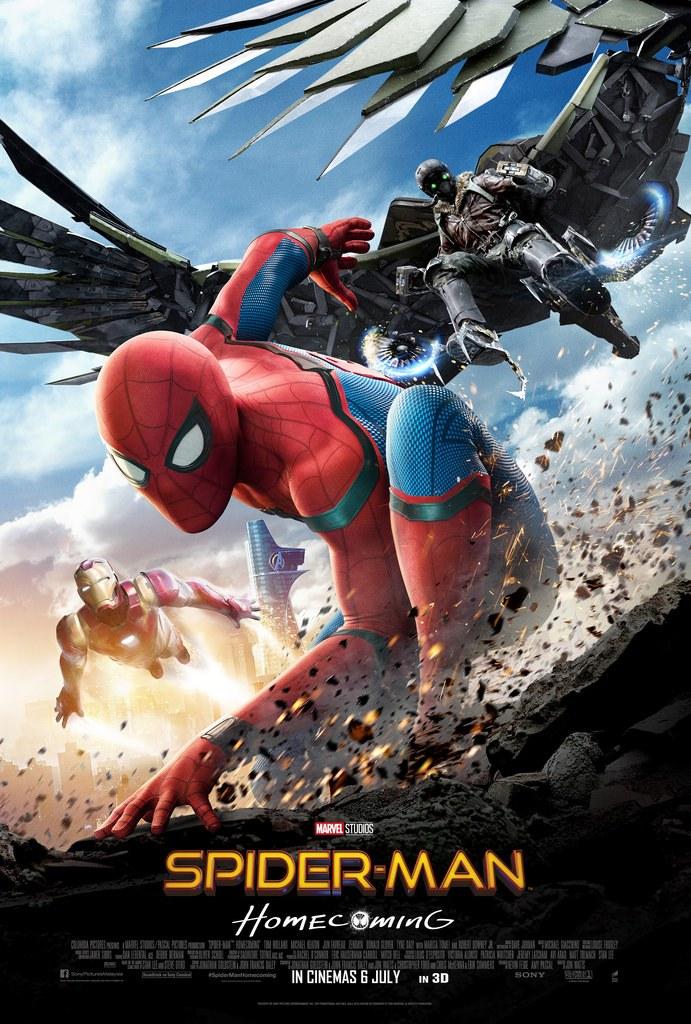 دانلود فیلم Spider Man Home coming 2017 دوبله فارسی