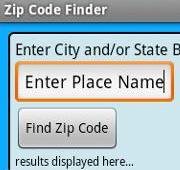 دانلود نرم افزار پیداکردن رمز فایل زیپ Zip Code Finder اندروید