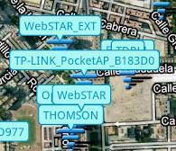 دانلود نرم افزار جستجو مکان وای فای رایگان اندروید Free Wifi