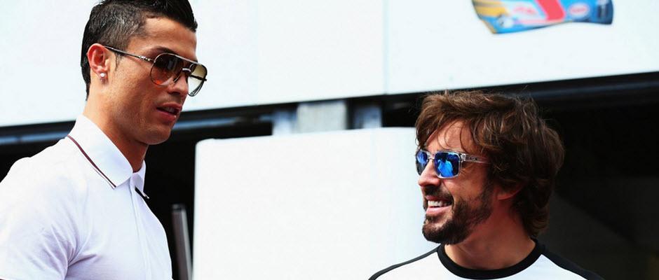 رئال بخشی از تور دروازه ورزشگاه میلنیوم را به فرناندو آلونسو هدیه داده است