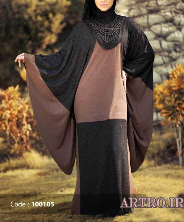 مدل مانتو عبایی شیک زنانه 2017