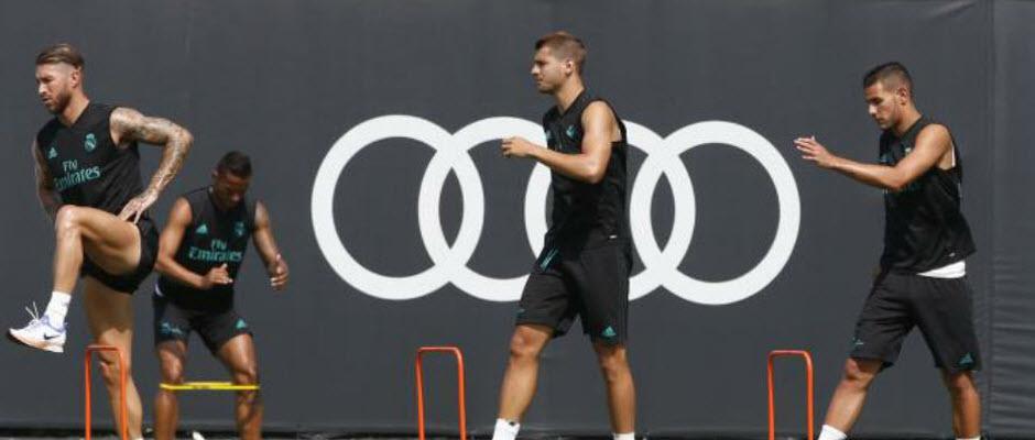 بازگشت سرخیو راموس به تمرینات گروهی رئال مادرید