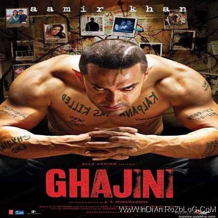 دانلود فیلم هندی گجینی Ghajini 2008 با دوبله فارسی