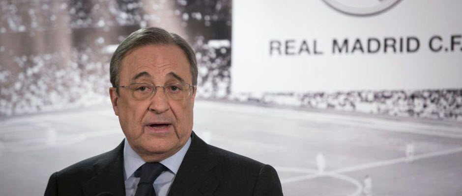 فلورنتینو پرز: میلان همیشه رقیب ما بوده است نه بارسلونا یا تیم دیگری