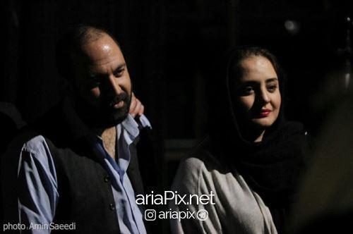 ازدواج نرگس محمدی,مراسم عقد نرگس محمدی و علی اوجی+تصاویر,ازدواج علی اوجی و نرگس محمدی