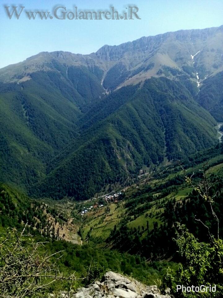 عکس هایی رویایی از طبیعت ارتفاعات دهکده ییلاقی گلامره