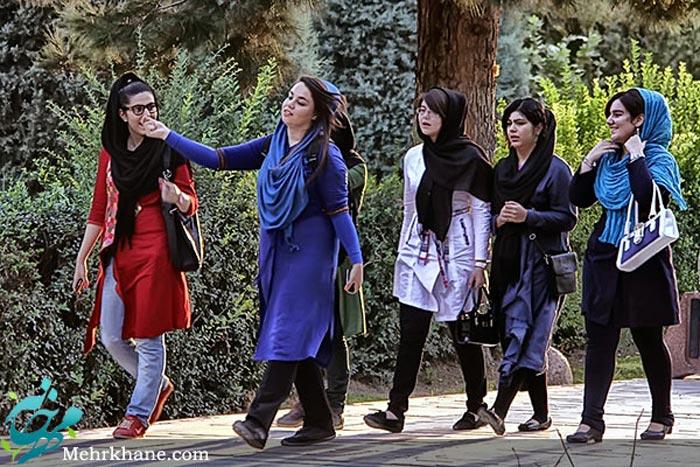 عکس دختران نسل چهارم و پنجم انقلاب