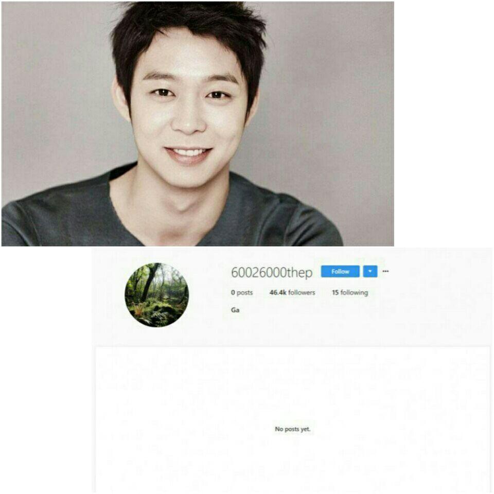 پس از انتشار عذرخواهی در اینستاگرام ،  Yoochun تمام پستهای اینستاگرامش را پاک کرد ... ⭕️    🌟🌟