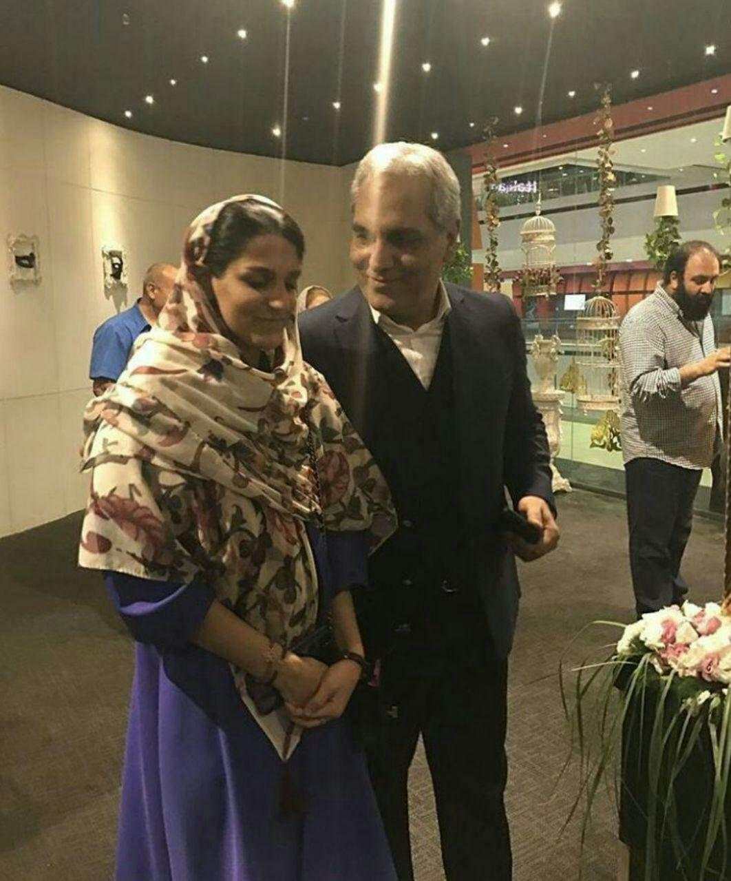 مهران مدیری به همراه دخترش برای اولین بار + عکس