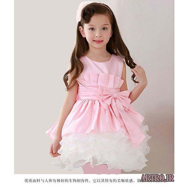 مدل لباس عروس بچه گانه کوتاه