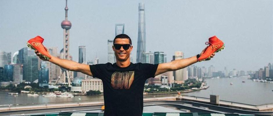 آغاز تور تبلیغاتی 3 روزه رونالدو با استقبال 50 هزار نفری در چین