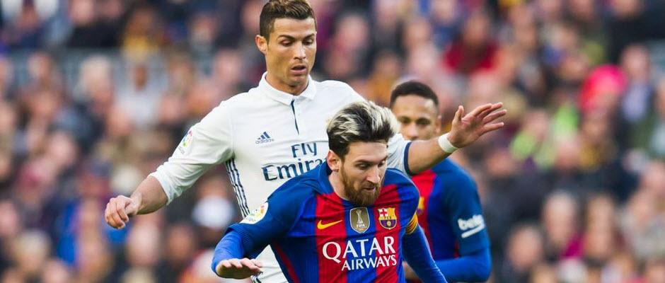 رونالدو: بالاتر از مسی بودن بزرگترین انگیزه من است