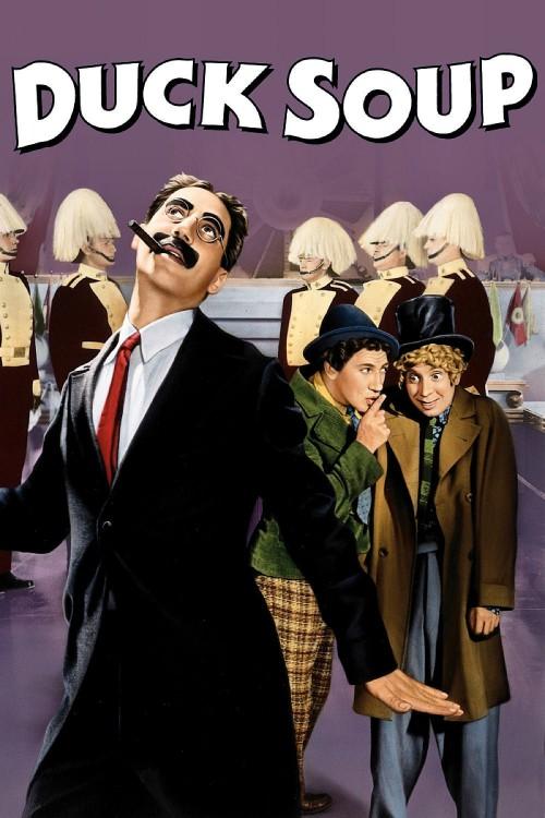 دانلود فیلم سوپ اردک Duck Soup 1933