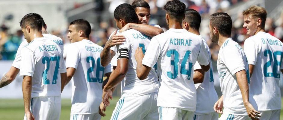 گینس کاپ؛ منچستریونایتد (2) 1-1 (1) رئال مادرید