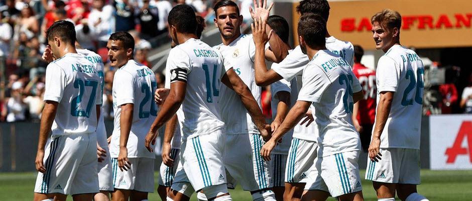 7 بازیکن جوان و ناشناس زیدان در دیدار برابر یونایتد را بیشتر بشناسید